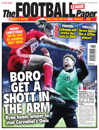 The Football League Paper 24th December 2017