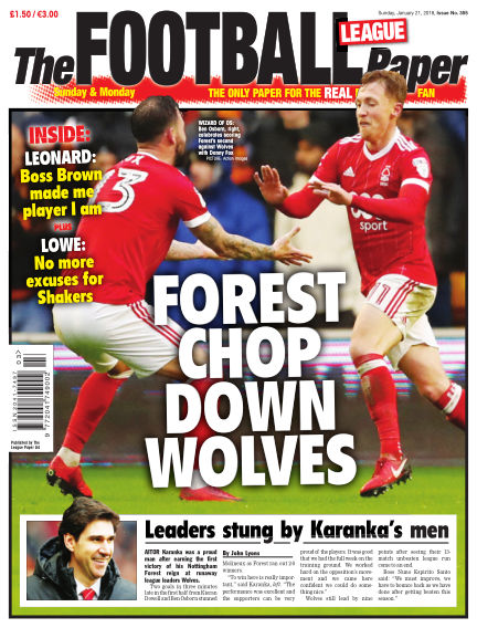 The Football League Paper January 21, 2018 00:00