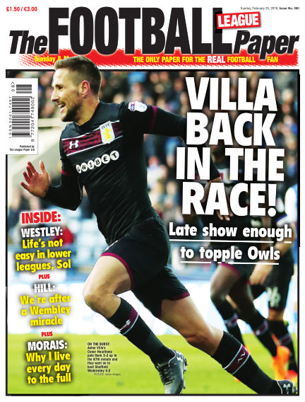 The Football League Paper February 25, 2018 00:00