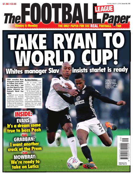 The Football League Paper March 04, 2018 00:00
