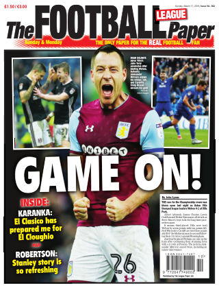 The Football League Paper 11th March 2018