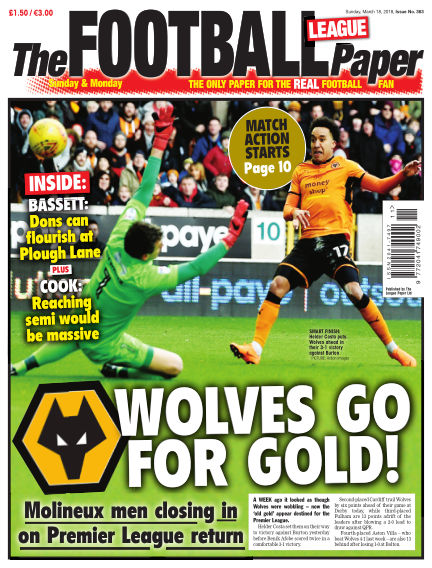 The Football League Paper March 18, 2018 00:00