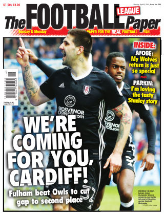 The Football League Paper 8th April 2018