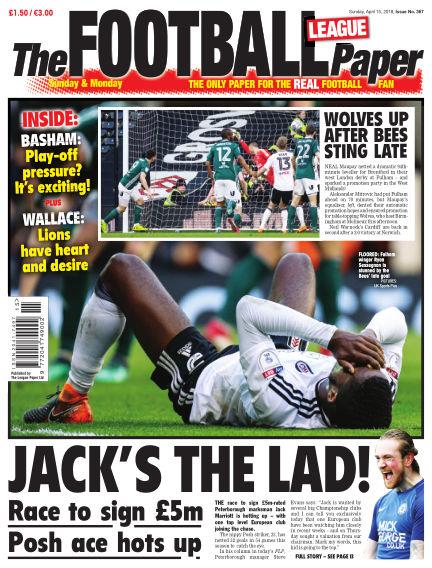 The Football League Paper April 15, 2018 00:00