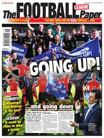 The Football League Paper April 22, 2018 00:00