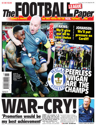 The Football League Paper 6th May 2018