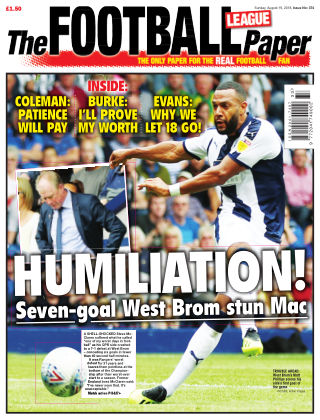 The Football League Paper 19th August 2018