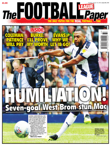 The Football League Paper August 19, 2018 00:00