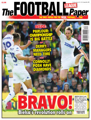 The Football League Paper E-26th August 2018