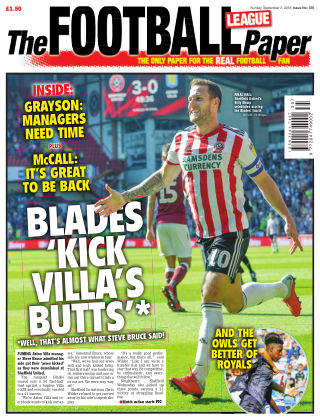 The Football League Paper 2nd September 2018