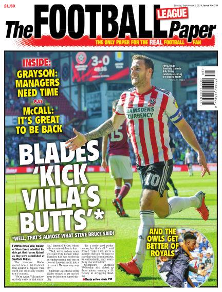 The Football League Paper September 02, 2018 00:00