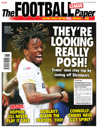 The Football League Paper 9th September 2018