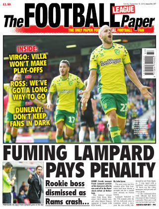 The Football League Paper 16th September 2018