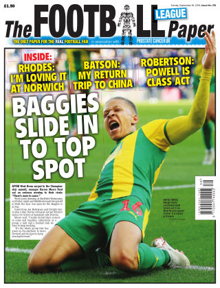The Football League Paper 30th September 2018