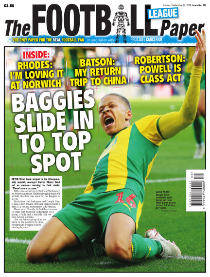 The Football League Paper September 30, 2018 00:00