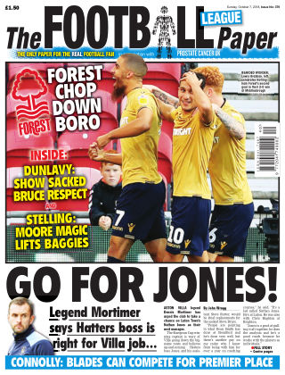 The Football League Paper 7th October 2018