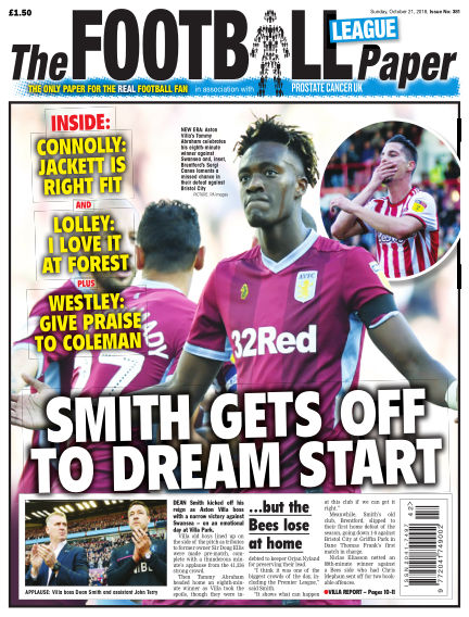 The Football League Paper October 21, 2018 00:00