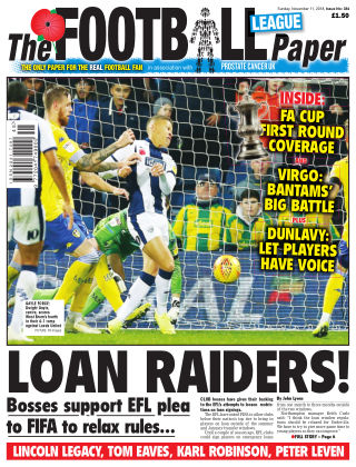 The Football League Paper 11th November 2018