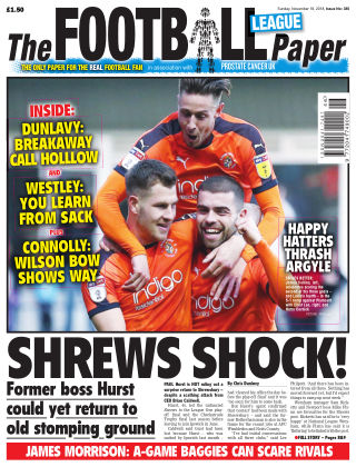 The Football League Paper 18th November 2018