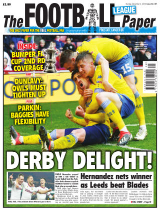 The Football League Paper 2nd December 2018
