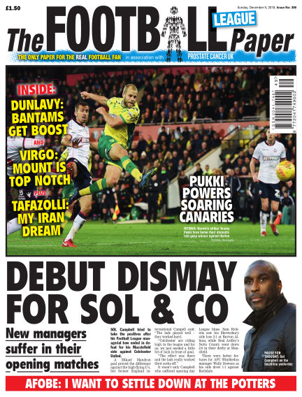 The Football League Paper December 09, 2018 00:00