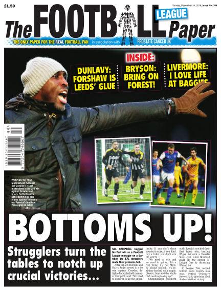 The Football League Paper December 16, 2018 00:00