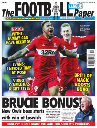The Football League Paper 3rd February 2019