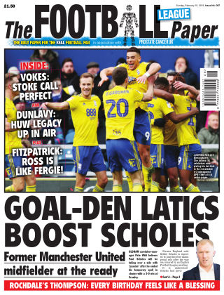 The Football League Paper 10th February 2019