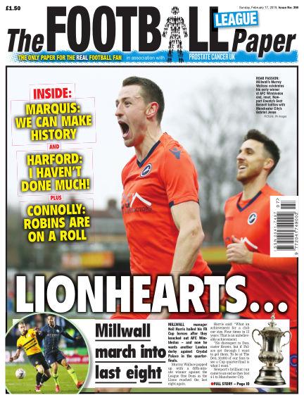 The Football League Paper February 17, 2019 00:00