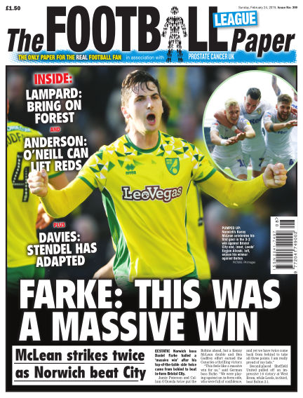 The Football League Paper February 24, 2019 00:00
