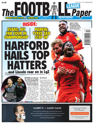 The Football League Paper 24th March 2019