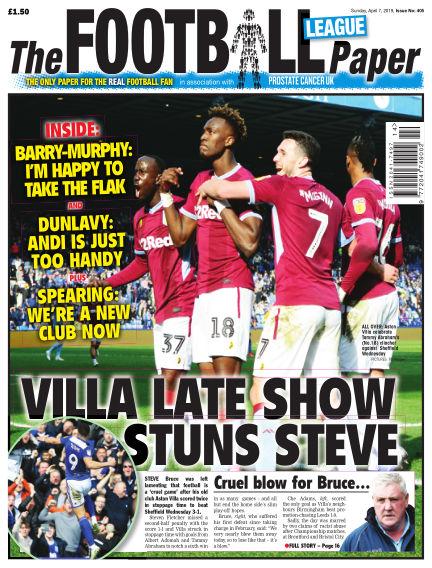 The Football League Paper April 07, 2019 00:00