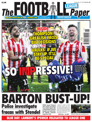 The Football League Paper 14th April 2019