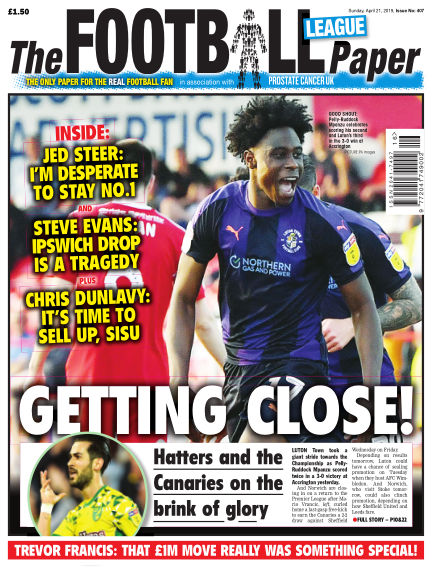 The Football League Paper April 21, 2019 00:00