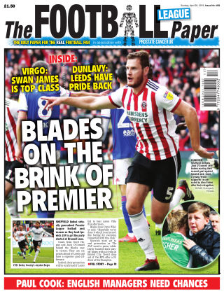 The Football League Paper 28th April 2019