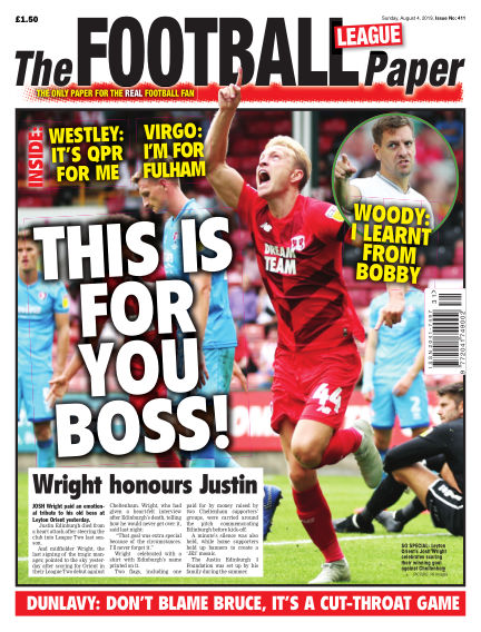 The Football League Paper August 04, 2019 00:00