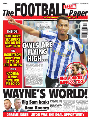 The Football League Paper 11th August 2019