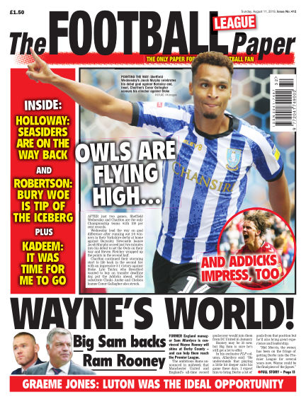 The Football League Paper August 11, 2019 00:00