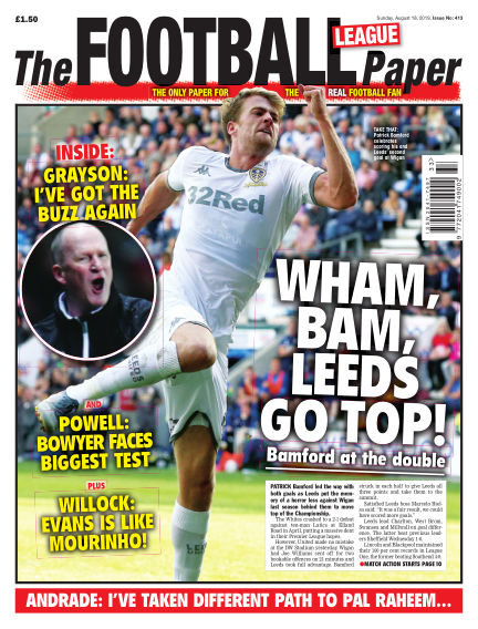 The Football League Paper August 18, 2019 00:00
