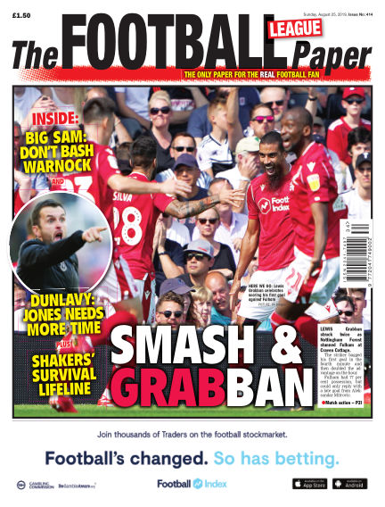 The Football League Paper August 25, 2019 00:00