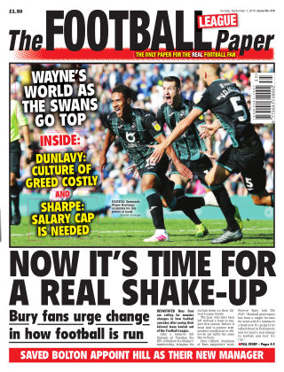 The Football League Paper 1st September 2019