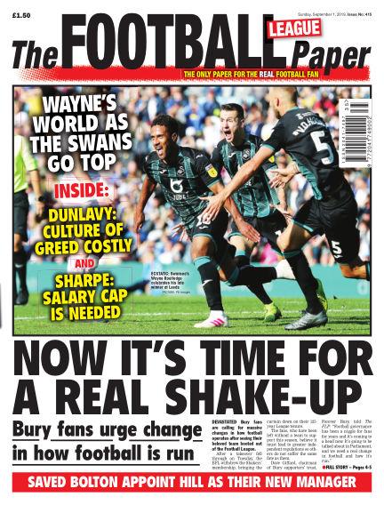 The Football League Paper September 01, 2019 00:00
