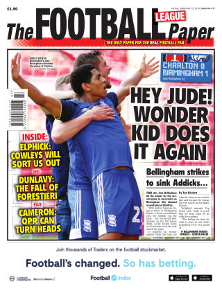 The Football League Paper 15th September 2019