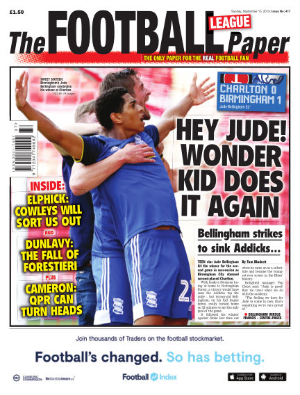 The Football League Paper September 15, 2019 00:00