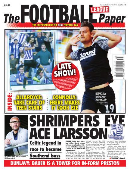 The Football League Paper September 22, 2019 00:00
