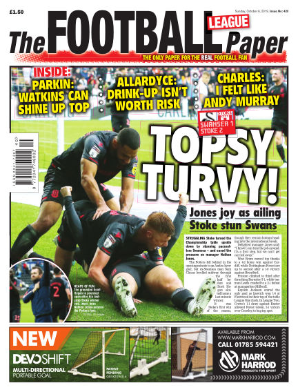 The Football League Paper October 06, 2019 00:00