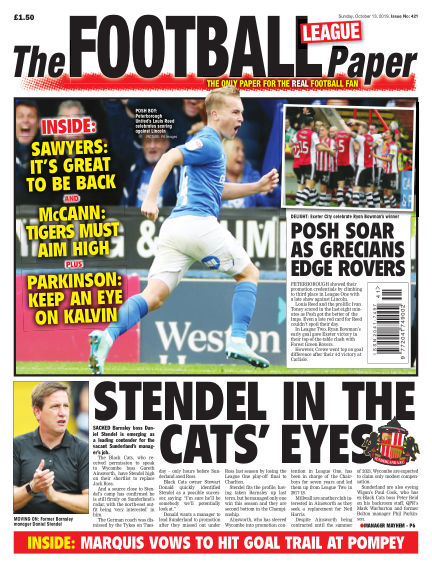 The Football League Paper October 13, 2019 00:00