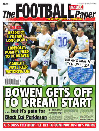 The Football League Paper 20th October 2019