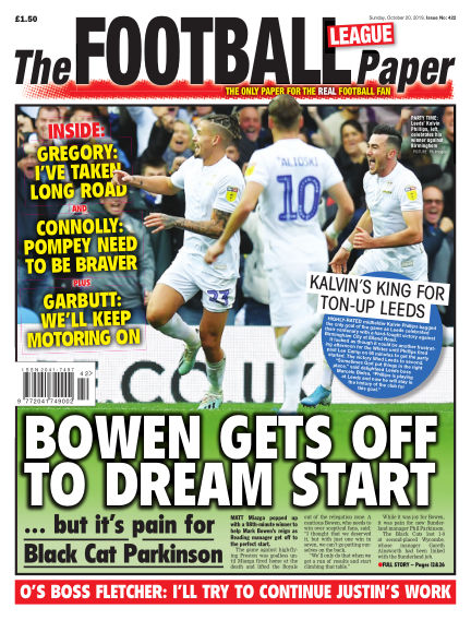The Football League Paper October 20, 2019 00:00