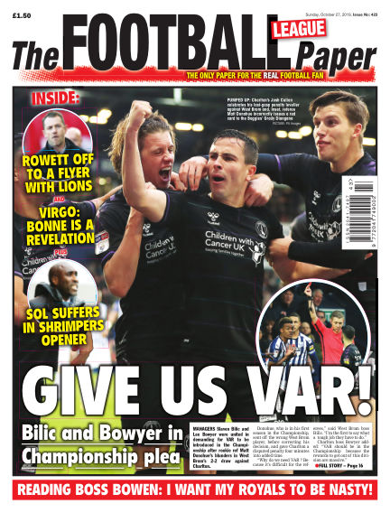 The Football League Paper October 27, 2019 00:00